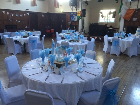 Beautiful Pale Blue Wedding
