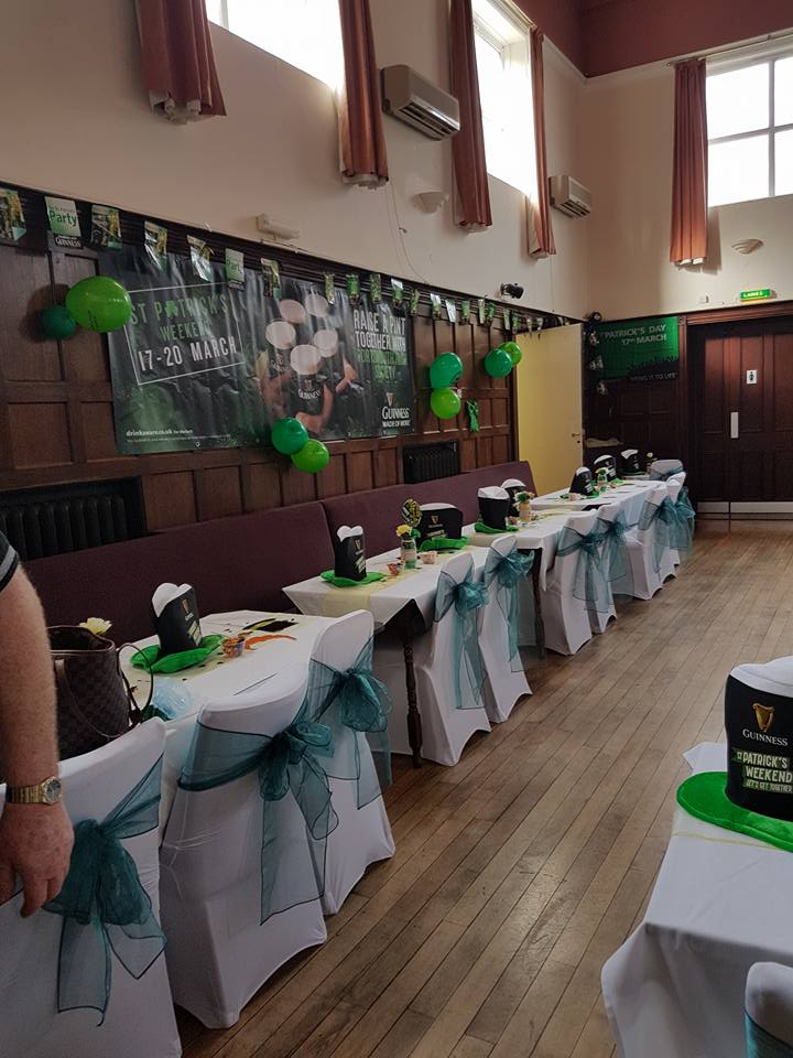 St Patricks Day Celebrations at the Portsmouth Irish Society